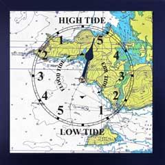 Dooagh Achill Island Tide clock